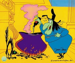 Bugs Bunny In Broomstick Bunny