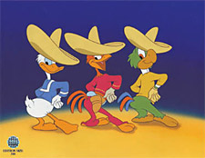 The Three Caballeros: Three Happy Chappies